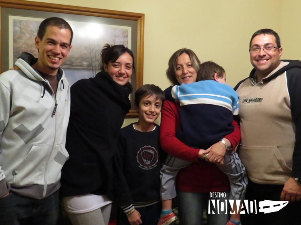 La Pampa familia de franco