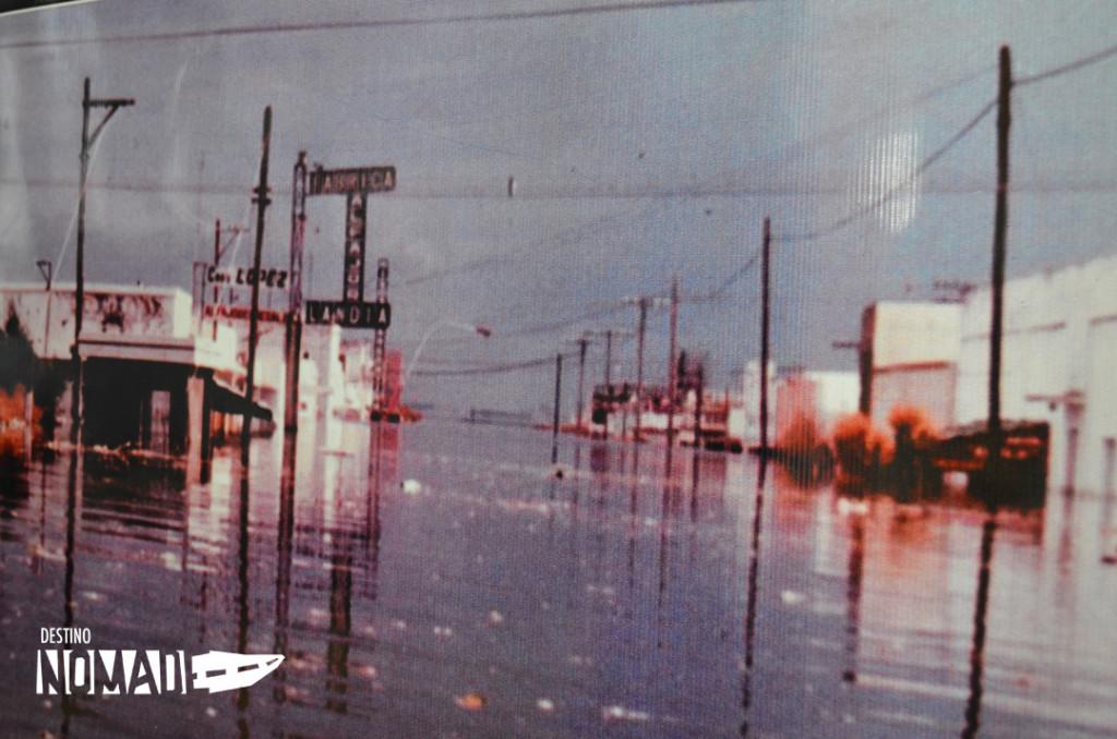 Villa Lago Epecuén inundacion