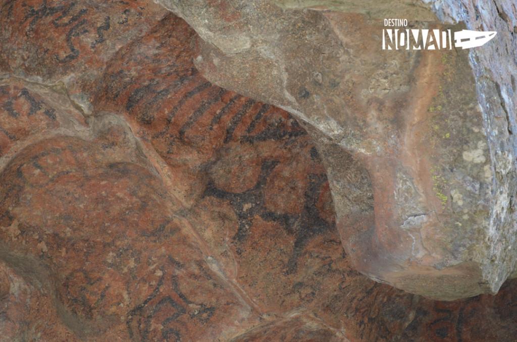Lihue calel pinturas rupestres