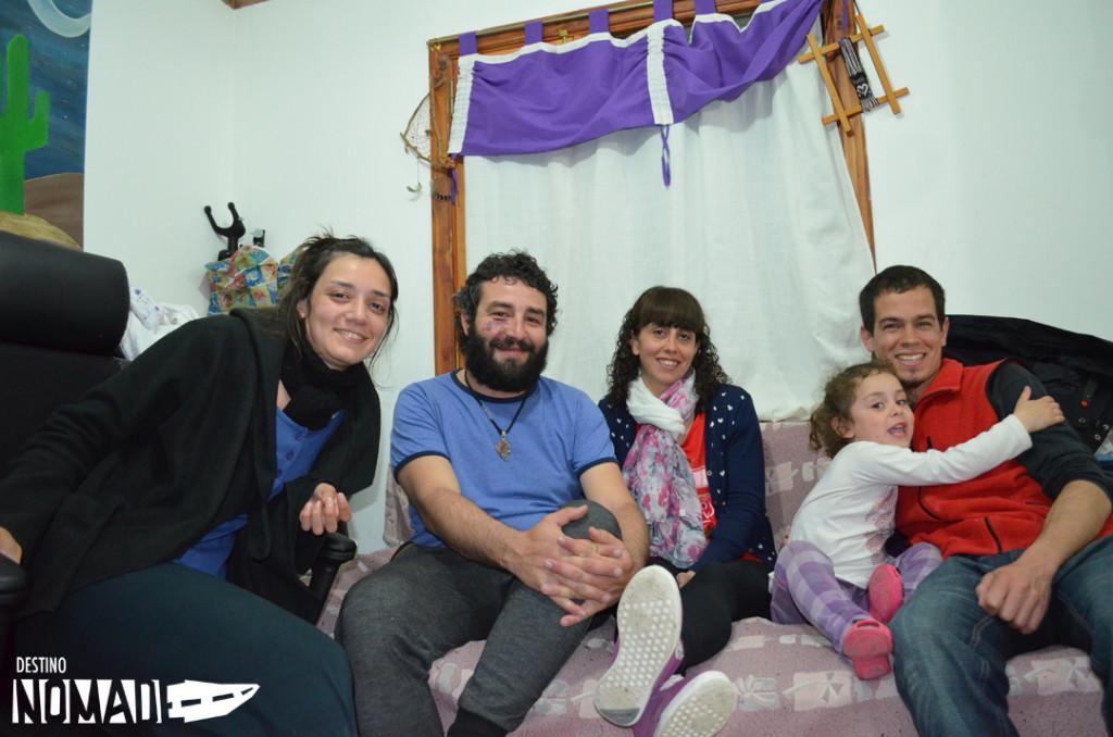 familia en Piedrabuena