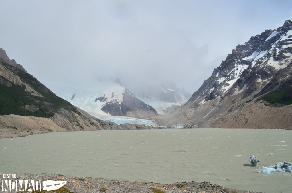 Laguna y glaciar Torre, El Chaltén