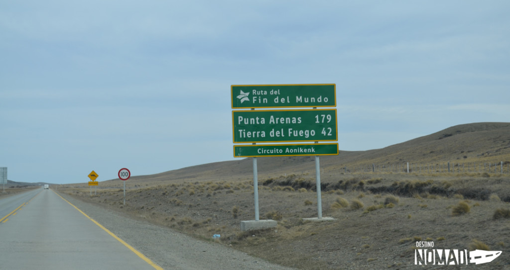 Circuito Aonikenk, Punta Arenas