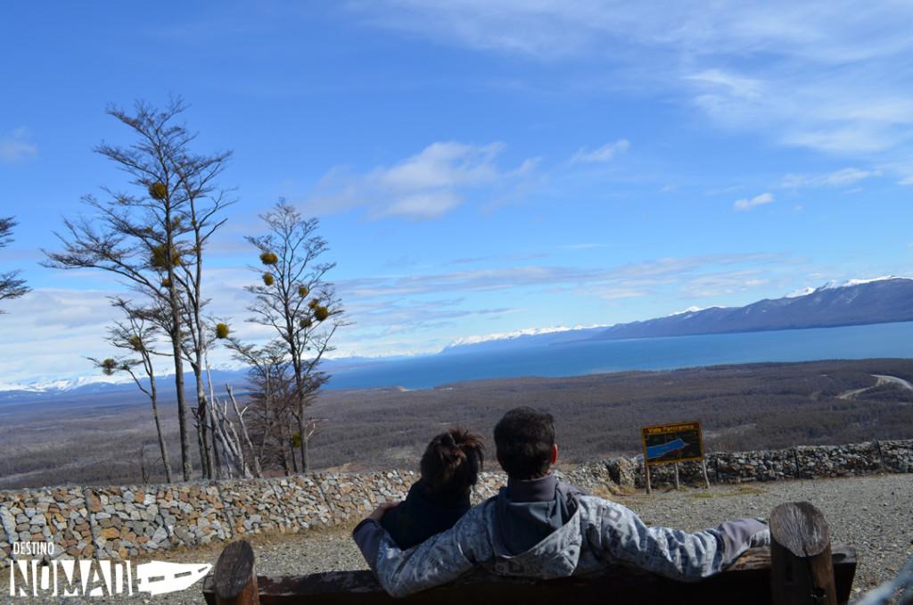 Tolhuin Vista de la cordillera desde el cerro Jeujepen