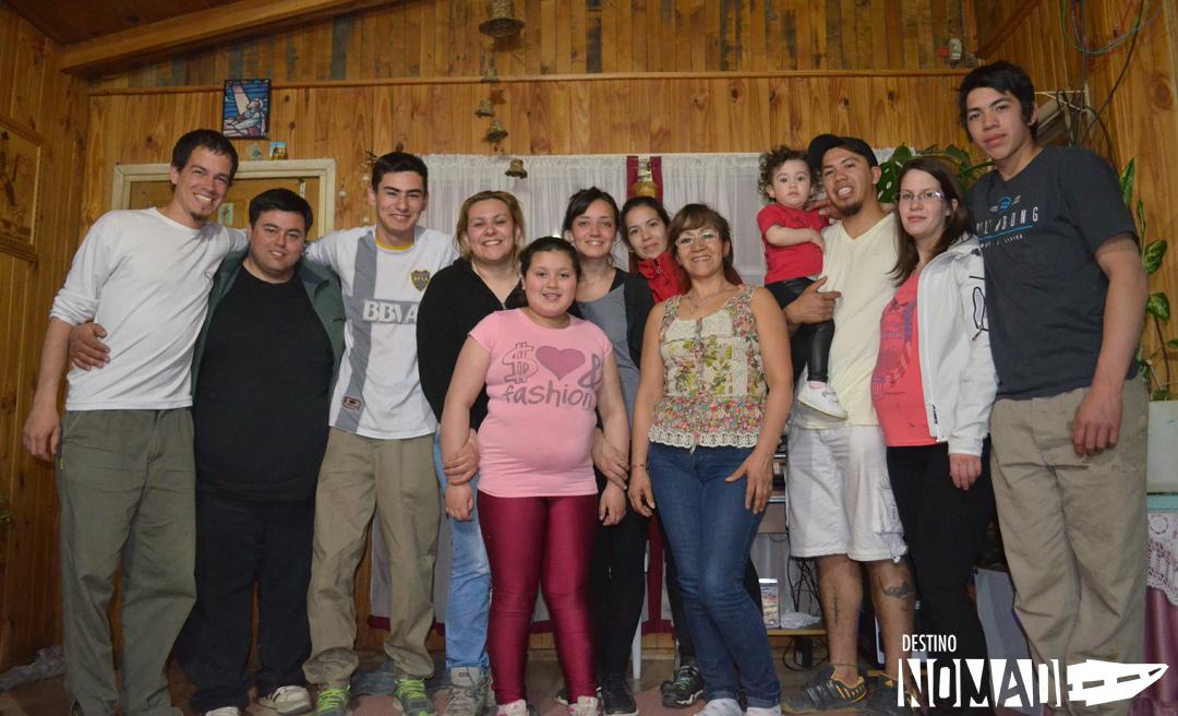 Con nuestra familia de Alma Gaucha.