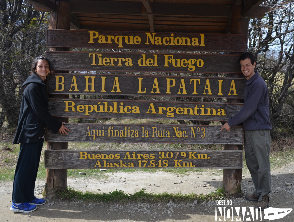 ushuaia fin de la ruta 3