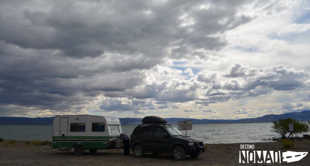 Lago Musters, Sarmiento