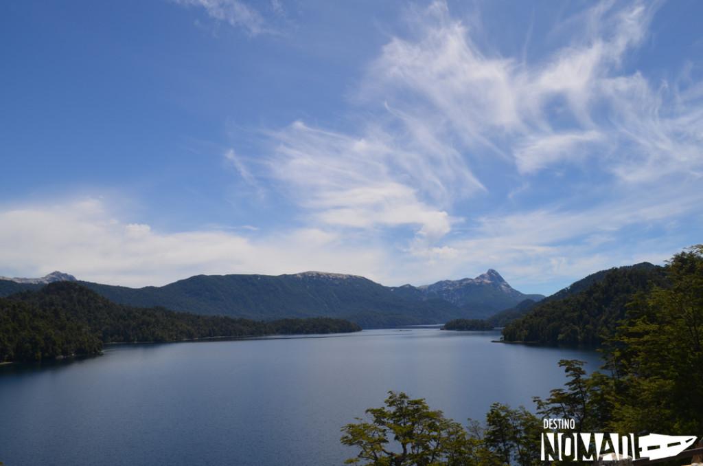 Lago Espejo, Ruta de los siete lagos