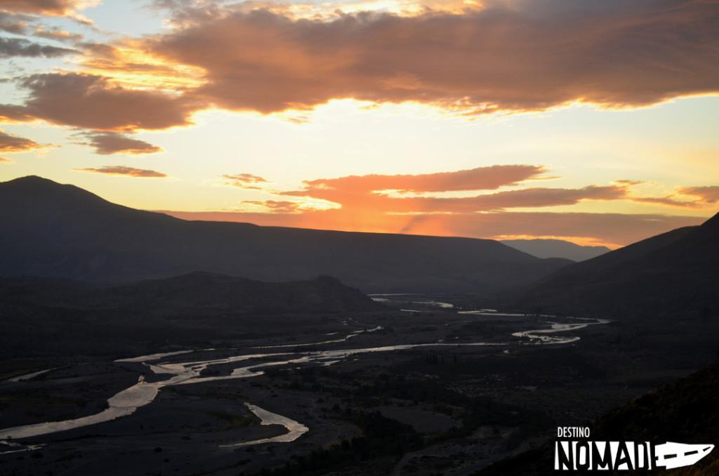 Cordillera del Viento, norte neuquino