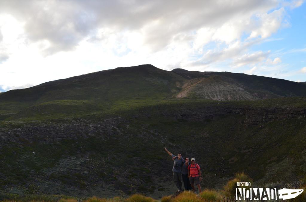 Crater de Buta Ranquil, norte neuquino