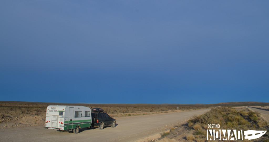 Camino a Playas Doradas, rutas patagónicas