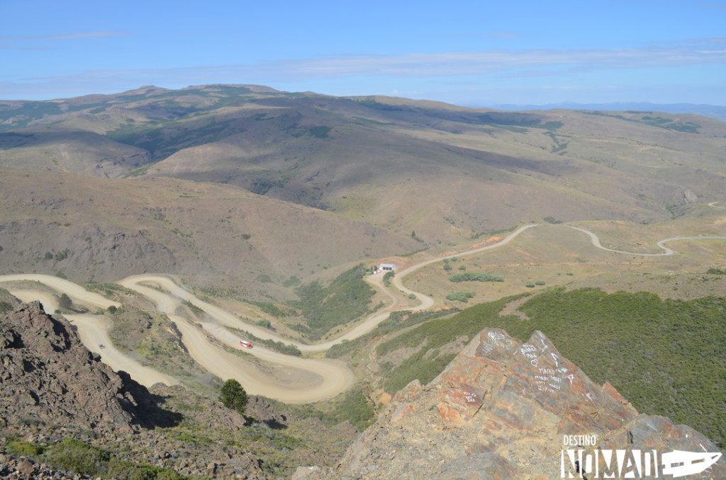 Cuesta de Rahue, rutas patagónicas