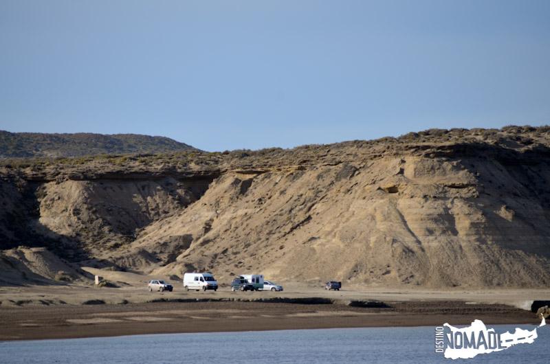 Punta Pardelas, Península de Valdéz, Chubut