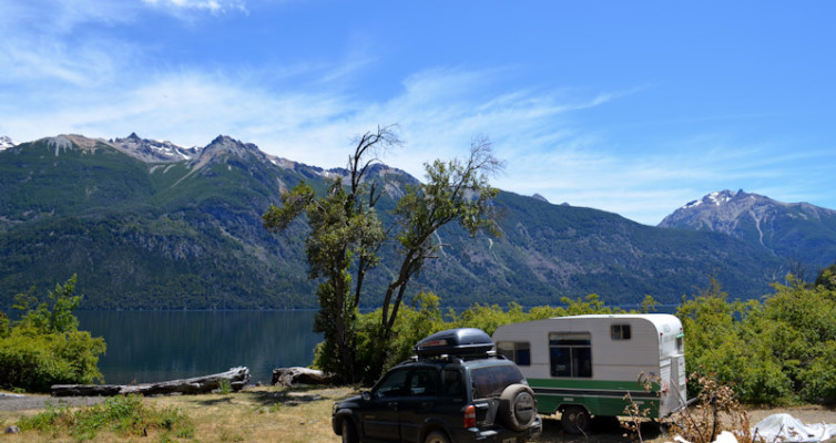 Camping Puerto Cañero, PN Los Alerces, Chubut