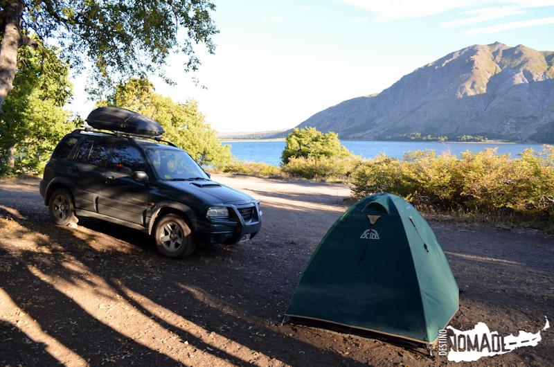 Camping Reserva Epu Lauquen, Neuquén