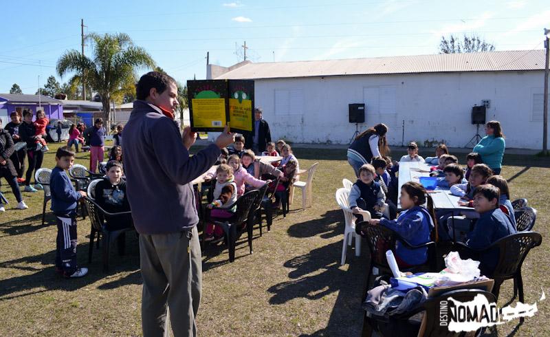 Taller literario en San Salvador, Entre Ríos