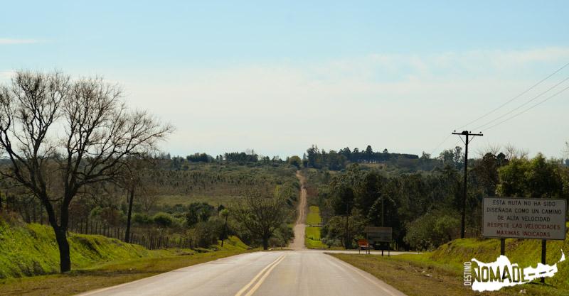 Ruta costera, Misiones