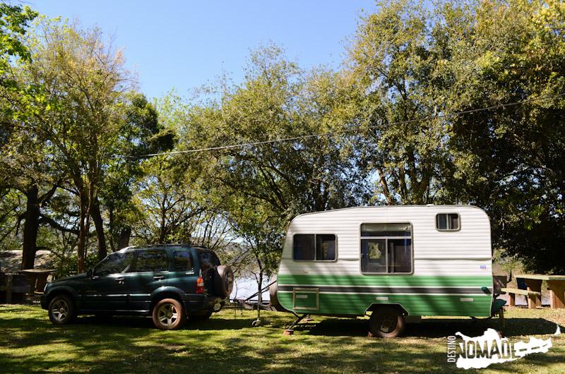 Camping municipal de Panambí, ruta costera de Misiones