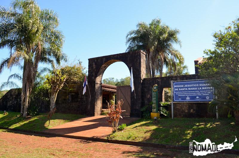 Santa María La Mayor, ruta costera de Misiones