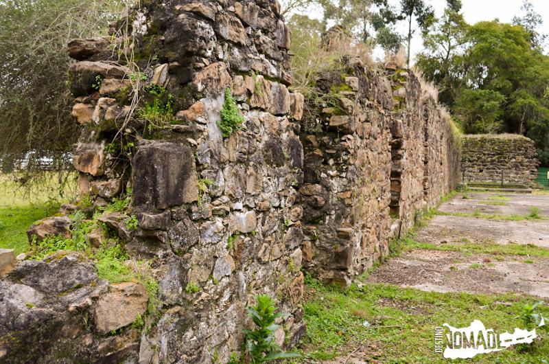 Restos de la calera jesuítica ubicada en el Parque Nacional El Palmar (Entre Ríos).