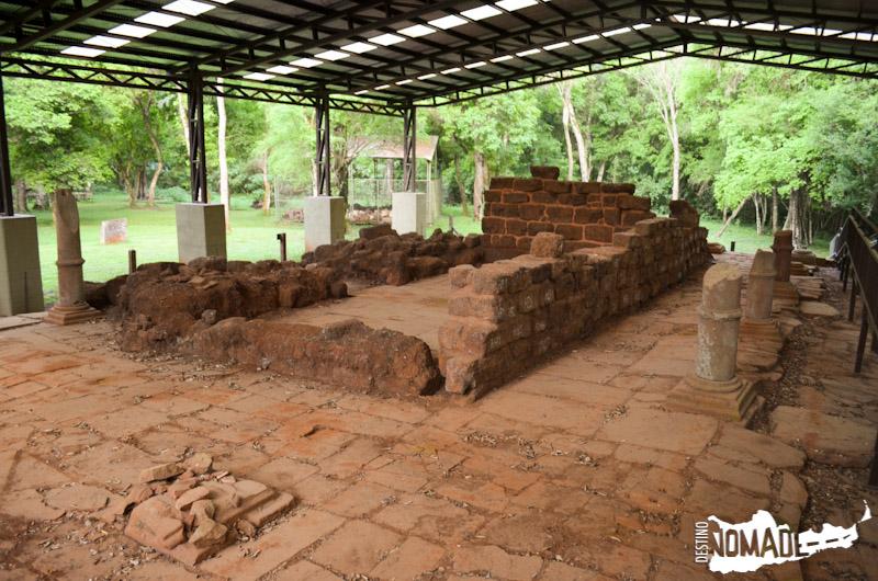Restos de la capilla de la misión de Loreto (Misiones).