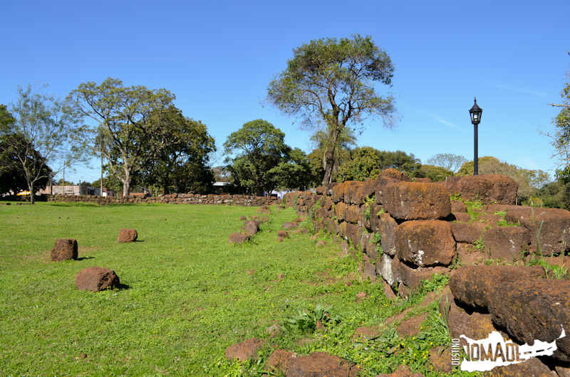 Ruinas de la misión de San Carlos