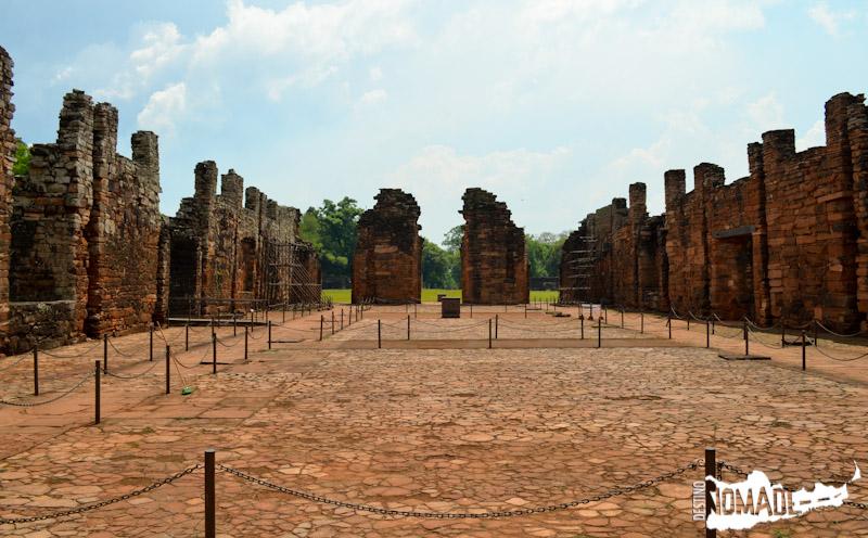 Ruinas de la misión de San Ignacio Miní