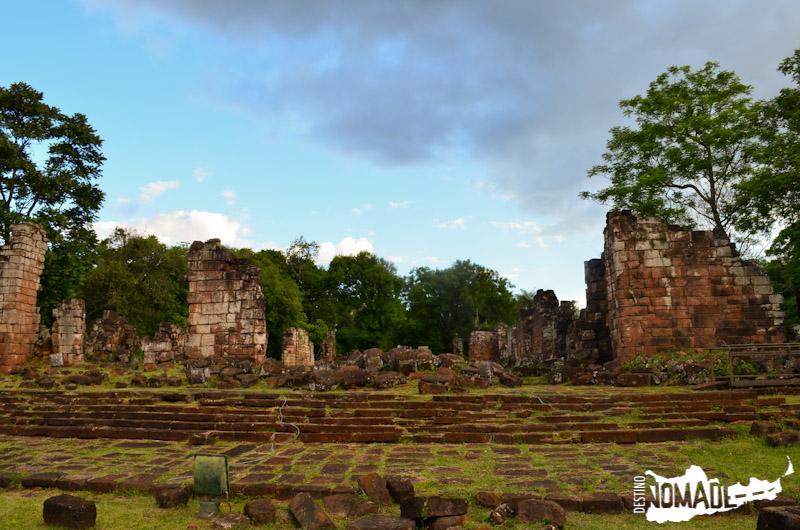 Ruinas de la misión de Santa Ana.
