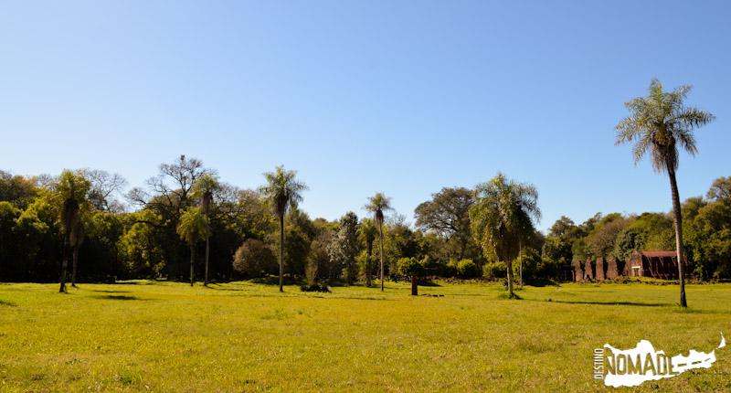 Plaza central de la misión de Santa María La Mayor (Misiones)