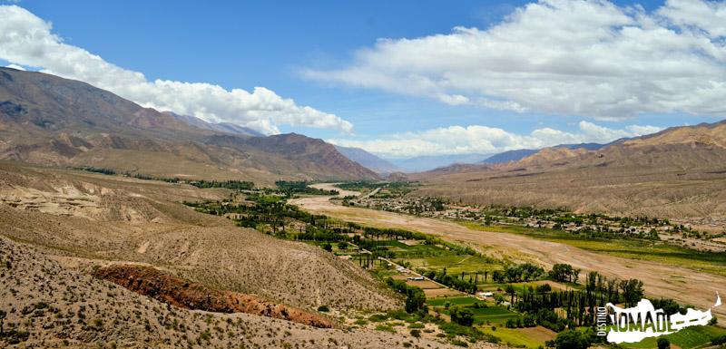 Vista desde el Pucará de Huacalera, Quebrada de Humahuaca