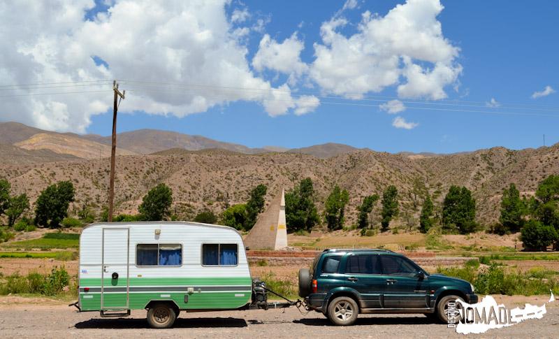 Monolito del Trópico de Capricornio, Quebrada de Humahuaca