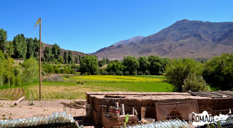 Nuestra vista cada mañana en Huacalera