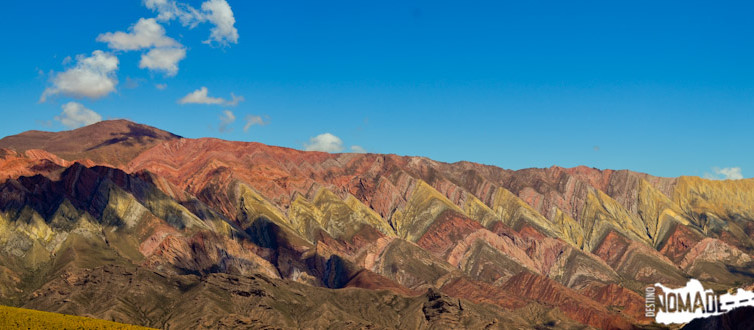 Serranía del Hornocal, en la Quebrada de Humahuaca