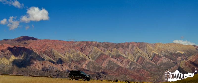 Serranía del Hornocal o Cerro de los 14 colores, Quebrada de Humahuaca