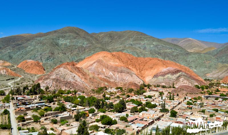 Cerro de los Siete Colores en Purmamarca, Quebrada de Humahuaca