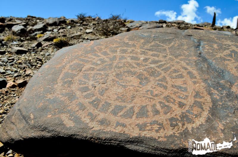 Petroglifos en Santa Rosa de Tastil