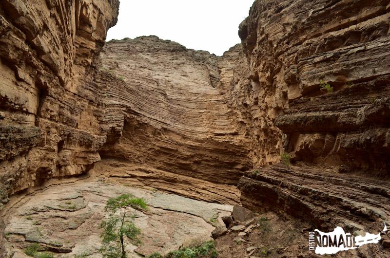 La Garganta del Diablo en la Quebrada de las Conchas, Valles Calchaquíes