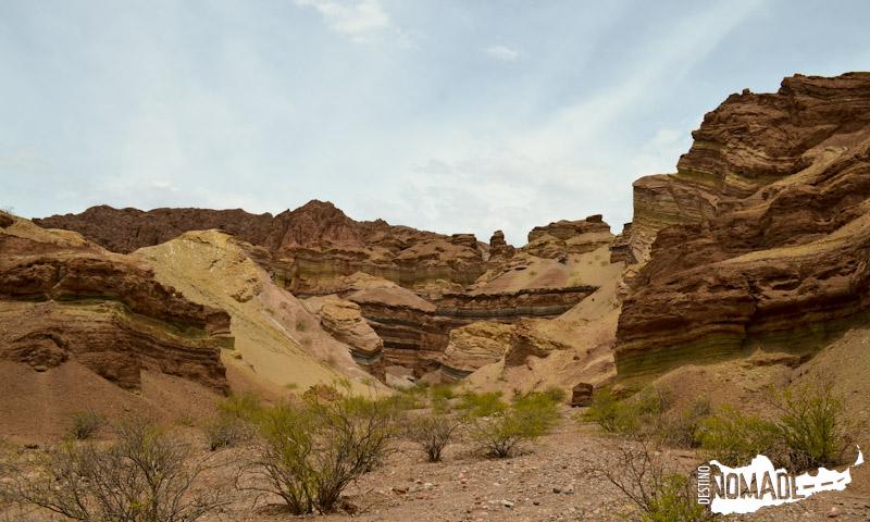 La Yesera en la Quebrada de las Conchas, Valles Calchaquíes