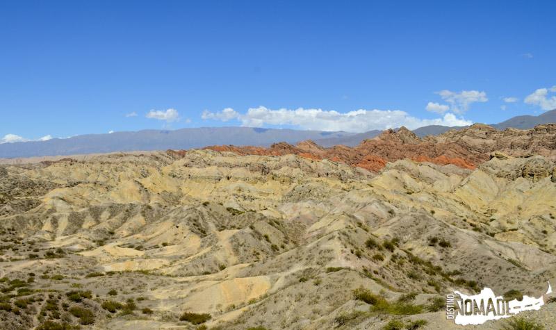 Cerro de Colores en Santa María, Valles Calchaquíes