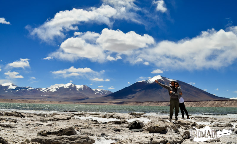 Laguna Verde (Chile), La Ruta de los Seismiles, Catamarca