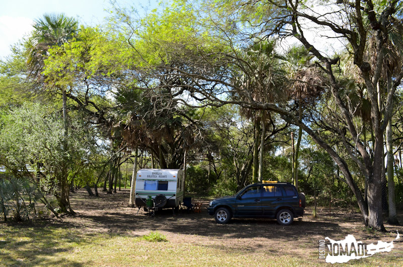 Camping de Laguna Blanca, Parque Nacional Río Pilcomayo