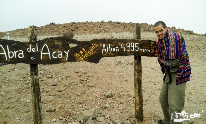 En este caso, teníamos un aguayo, que también sirve de abrigo (especialmente a los 5.000 msnm!!!).