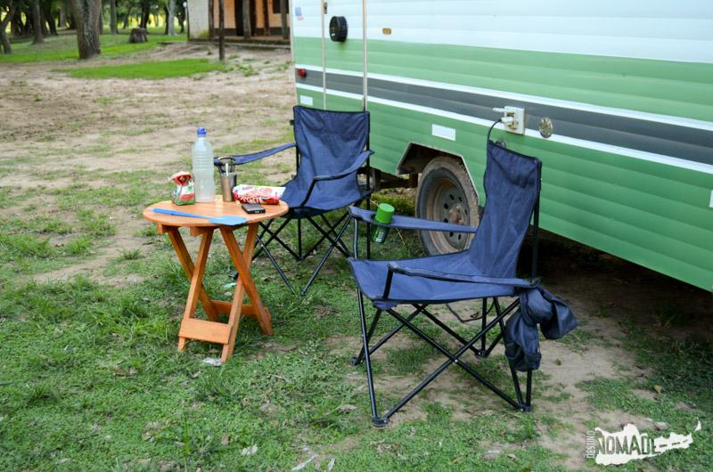 Tips viajeros: Mesa y sillas plegables